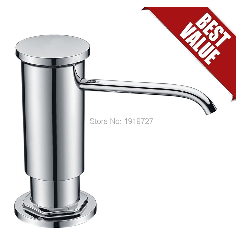 High Quality Replacement Chrome Sink Soap Dispenser With