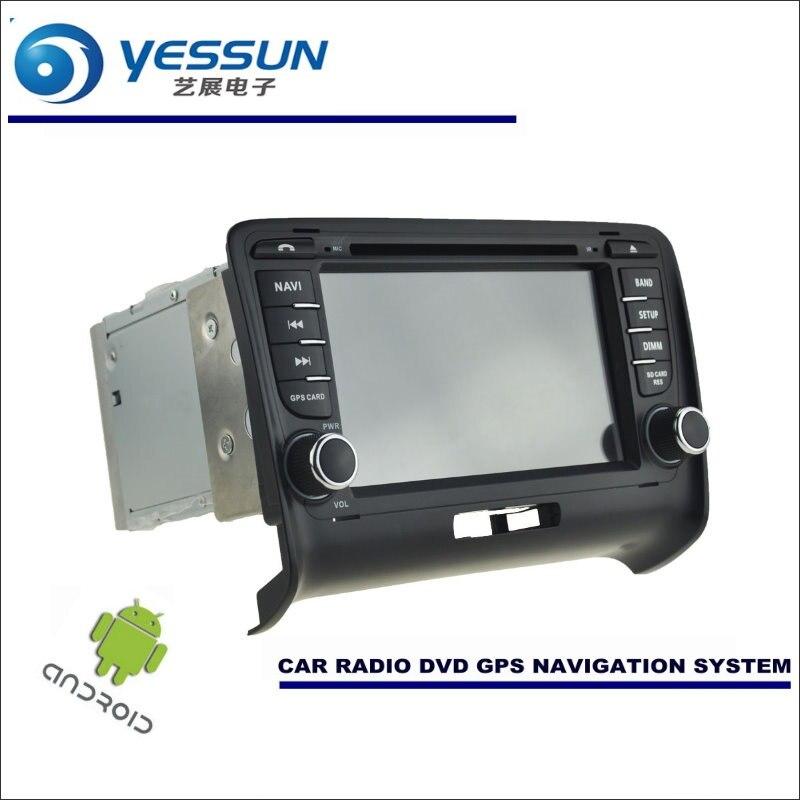 Système de Navigation Android de voiture YESSUN pour Audi TT TTS 2006 ~ 2012-lecteur CD DVD stéréo Radio GPS Navi BT HD écran multimédia