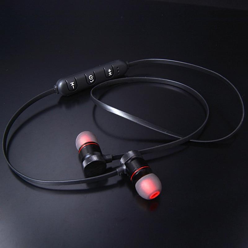 Newest M9 9S M90 Metal Sports Bluetooth Headphone SweatProof Earphone Magnetic Earpiece Stereo Wireless Headset For Mobile Phone