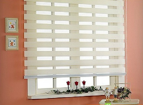 free shipping popular zebra blinds double layer roller blinds curtain fabric curtain window curtain electric blinds