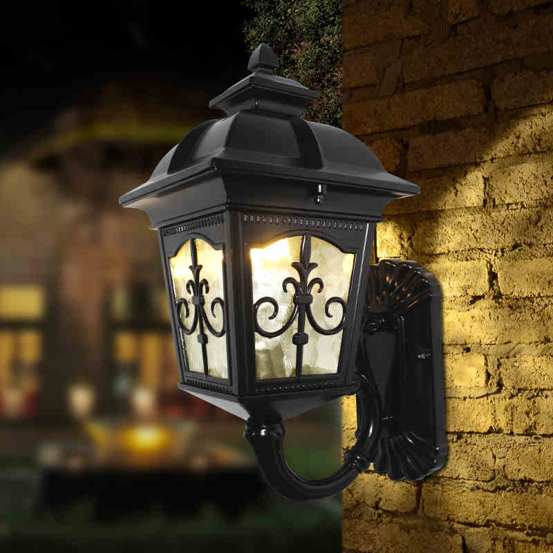 Wall Lantern External : Online Buy Wholesale outdoor wall lantern from China outdoor wall lantern Wholesalers ...