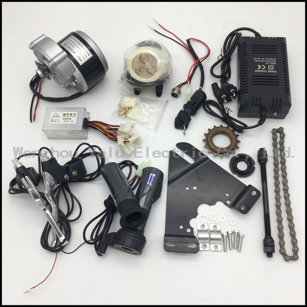 Heavy Duty Electric Truck Tricycle Dc Motor Bm1424zxfbldc2200w60 Power Wiring In Addition Car Conversion Kits My1016z 24v 36v 350w 250w Brush Kit Diy Wheel Motors For Ebike