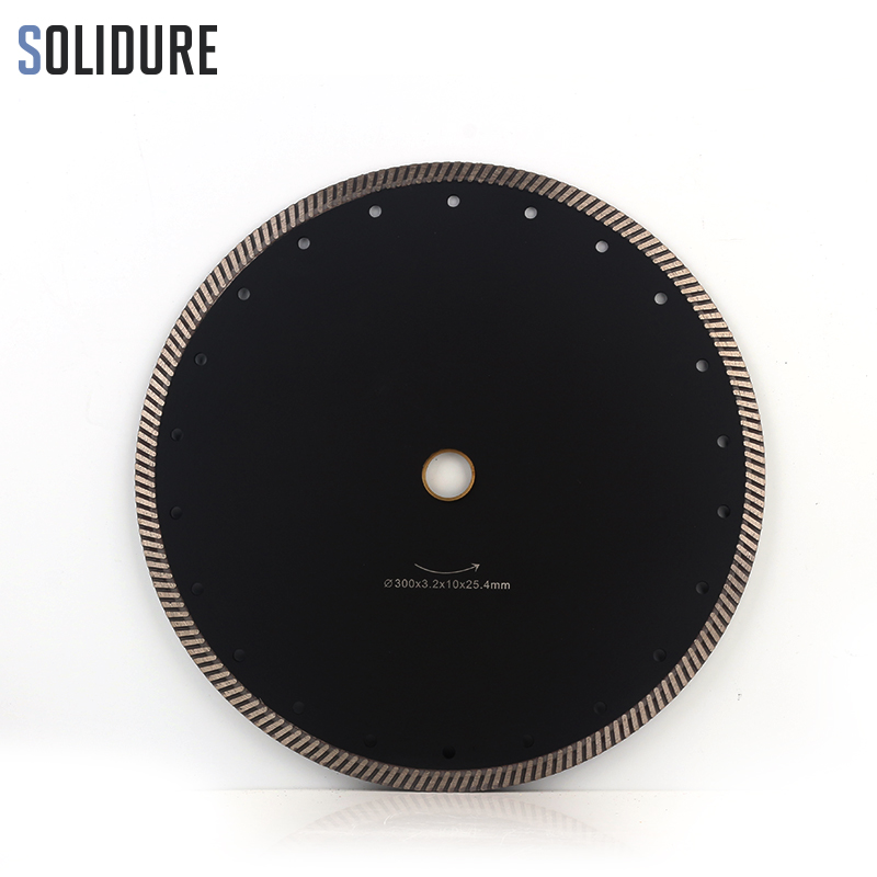 300mm 12 Inch Diamond Turbo Cutting Disc Diamond Saw Blade For Granite/Marble Tiles Ceramic Best Quality Diamond Cutting Disk