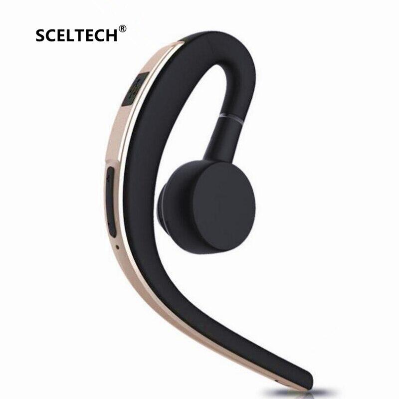 SCELTECH V3 Sans Fil Mains Libres Bluetooth D'affaires Casque Avec Micro Contrôle Vocal Bluetooth Casque Pour Lecteur Antibruit