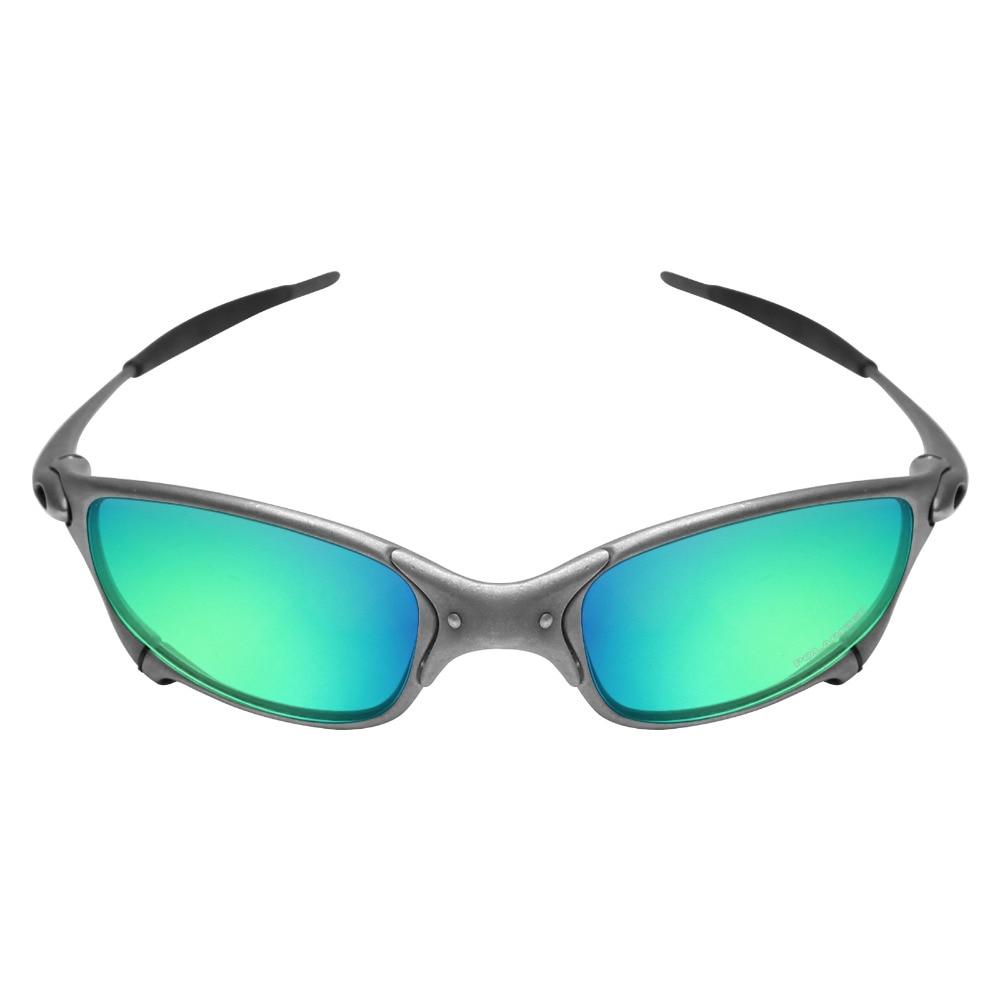 c79e3c0b33e68 Mryok + polarizado resistir agua reemplazo de lentes Oakley Juliet X gafas  de sol de Metal verde esmeralda en Gafas Accesorios de Accesorios de ropa  en ...