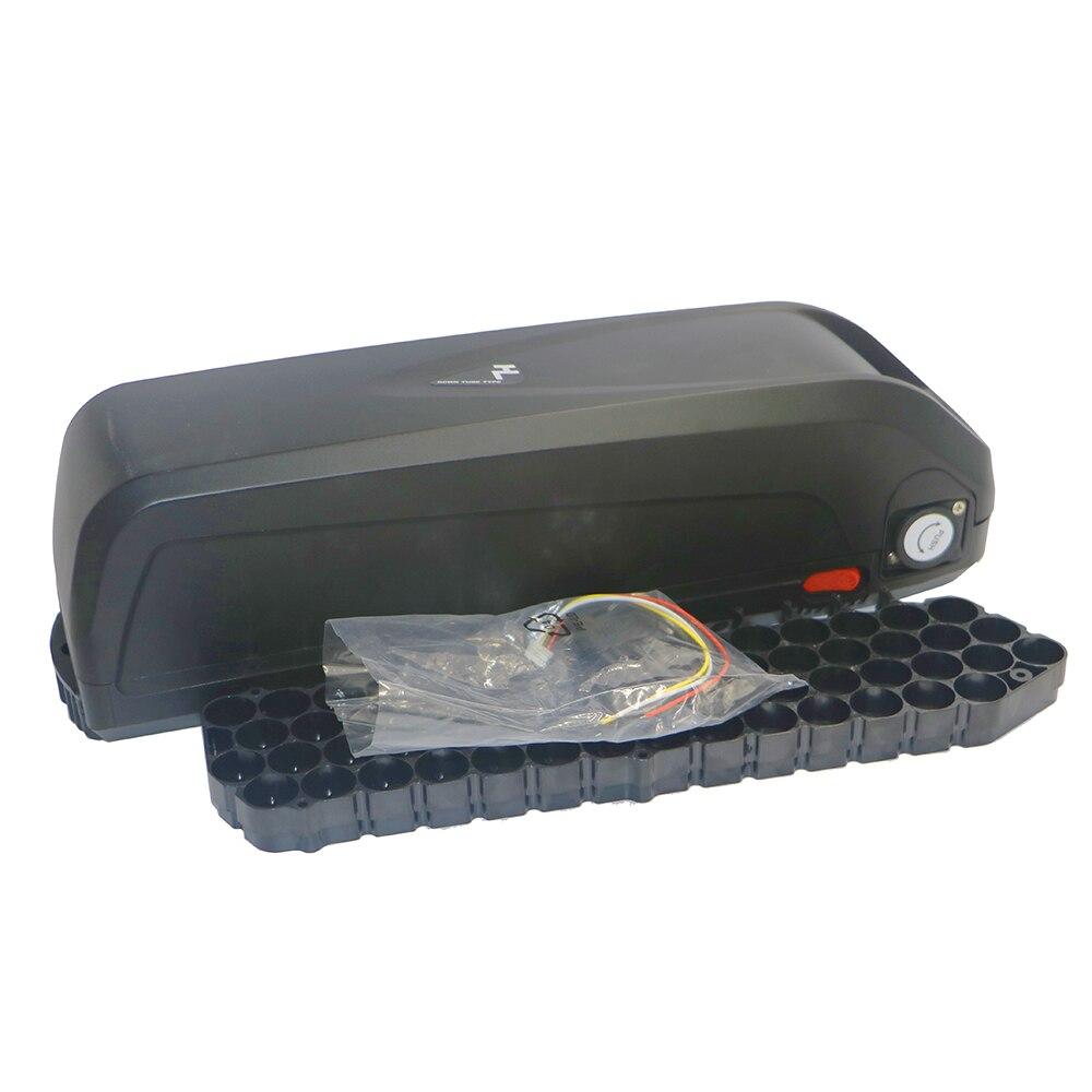 E-bike 48 v 36 v Boîte De Rangement boîtier de batterie au lithium tube vélo Électrique batterie 36 v/ 48 v Avec gratuit 18650 titulaire