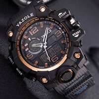 YAZOLE Sport Watch Men Top Brand Luxury Famous Electronic Wristwatch Led Digital Wrist Watches For Male