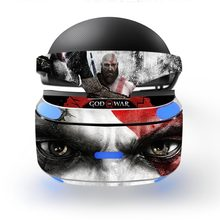 God of War Removable Vinyl Decal Skin Sticker Cover Protector for Playstation VR PS VR PSVR Protection Film Skin Sticker(China)