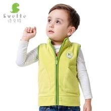 Svelte Brand Spring Autumn and Winter font b Boys b font Girls Fur Fleece Vest Children