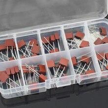 10 Вид 50 100 шт. квадратная коробка предохранителей 392 электрические Ассорти предохранитель Mix набор 0.5A 1A 1.25A 1.6A 2A 2.5A 3.15A 4A 5A 6.3A квадратный Пластик