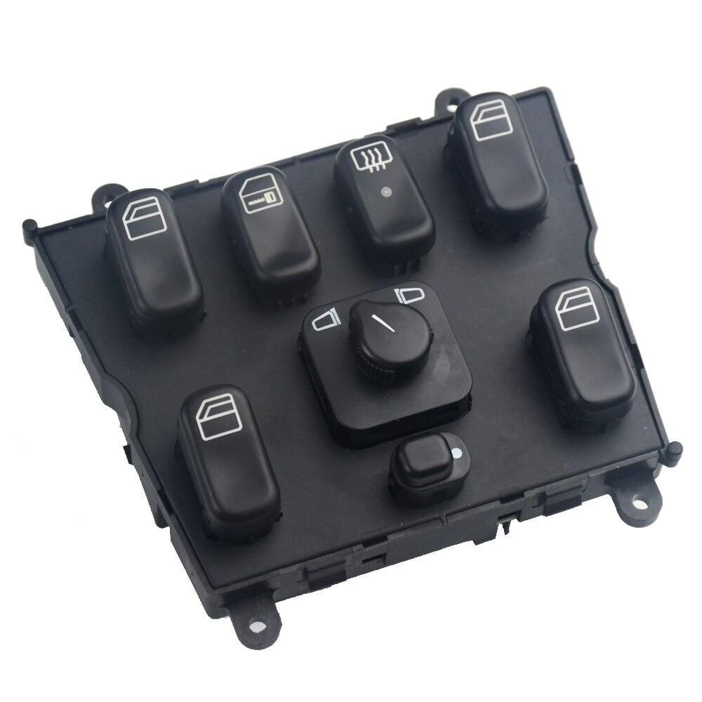 1638206610 Console de commutateur de fenêtre principale électrique pour Mercedes classe M W163 Ml230 Ml320 Ml350 Ml430