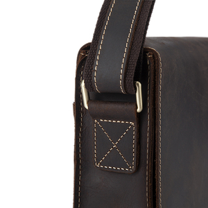 Image 5 - WESTAL 정품 가죽 남성 숄더 가방 남성 satchels 핸드백 bussiness 문서 메신저 가방 남성용 crossbody 가방