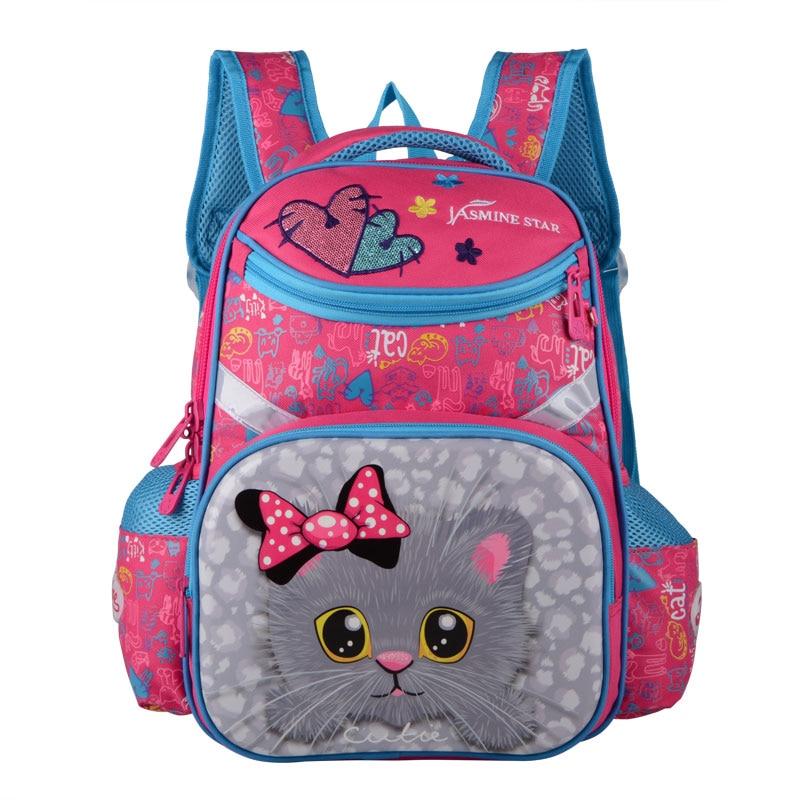 2019 Neue Rucksäcke Für Schule Taschen Mädchen Cartoon Katze 19 Zoll Größe Orthopädische Rucksack Kinder Rucksack Mädchen Mochila Escolar Niedriger Preis