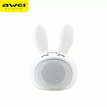 AWEI Y700 Mini Speaker Portable Rabbit Speakers Outdoor Sport Wireless Hifi for Mobile Phone