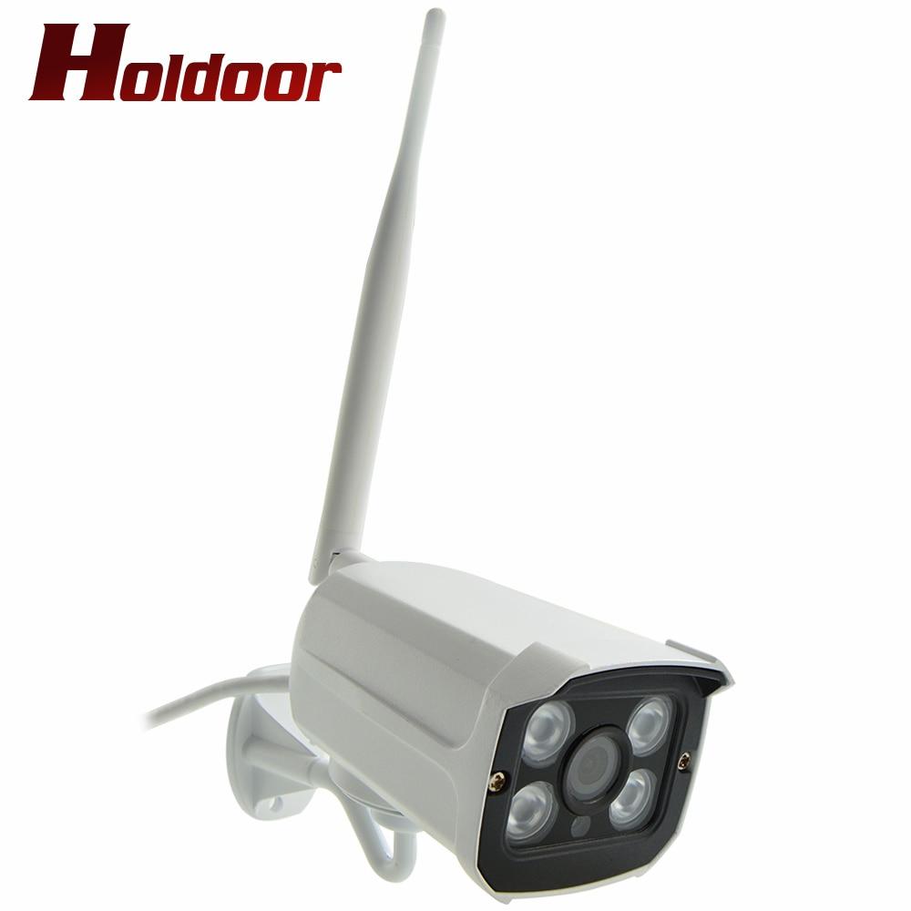 Full HD 1080P wifi IP Camera IP66 Wireless camera Outdoor Waterproof IR Night Vision With Card Slot support 64G Micro Card  P2P 1080p hd ip camera wifi wireless onvif p2p ip66 waterproof night vision motion detection with micro sd card slot max support 64g