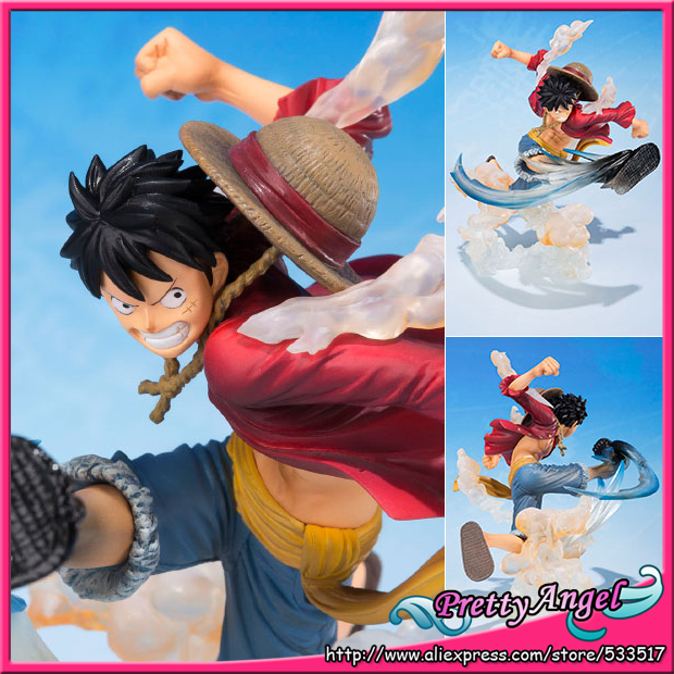 Japan Anime Original Bandai Tamashii Nations Figuarts Zero ONE PIECE Action Figure - Monkey D. Luffy -Gomugomu no Takamuchi- japan anime macross delta original bandai tamashii nations s h figuarts shf action figure freyja wion