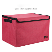 E-FOUR Washable Car Storage Bag Oxford Cloth Anti-dirty Water Dust Slip Goods Protect Stowing Tidying Products House Holding