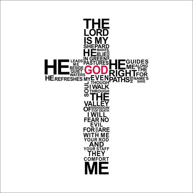 christian cross god quotes wall stickers for living room bedroom