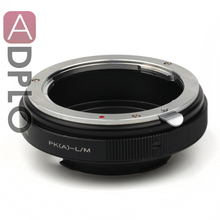 Aperture ADJUST Mount Adapter Ring Suit For Pentax K Mount PK DA Lens To Leica M LM M9 M8 M7 M6 M5 Camera