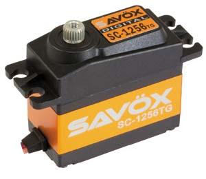 Savox sc-1256tg 0.16 s 20 kg numérique servo High Torque Titane Vitesse Numérique Directeur Sans Noyau Servo 1/8 1/10 RC pièces hsp hpi