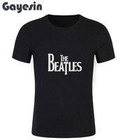 New The Beatles T Shirt Summer Style Short Sleeve Men O-Neck T-shirt Cotton Beatles Tees Top Men Clothing #163