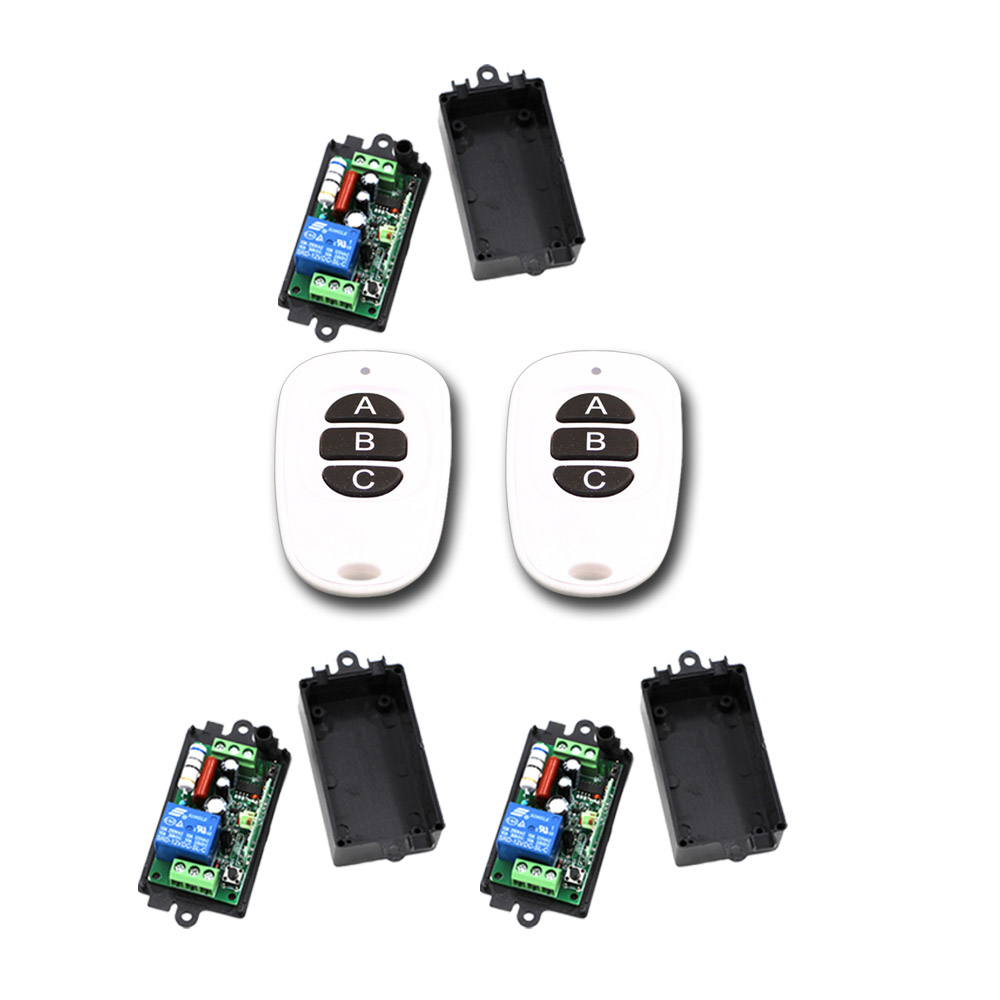 AC 110V 220V 10A Wireless Remote Control Switch RF Remote Switch 1CH Relay Receiver Transmitter 315Mhz 433Mhz ac 220v 10a 1ch relay wireless remote control switch system long range transmitter mini size receiver 315mhz 433mhz