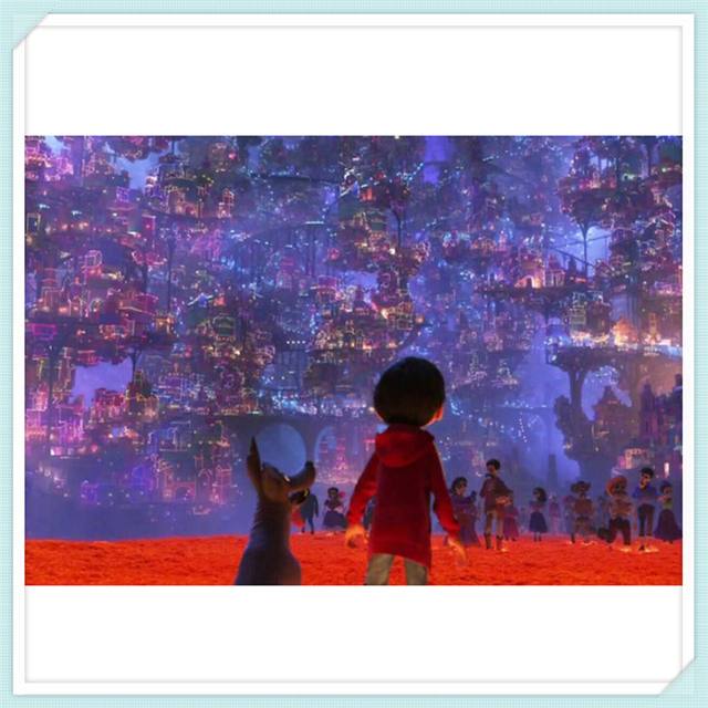 f0a30f833b Pixar Coco Movie poster 5d diamond embroidery kits cross-stitch home decor diamond  painting mosaic diy pictures needlework YF905
