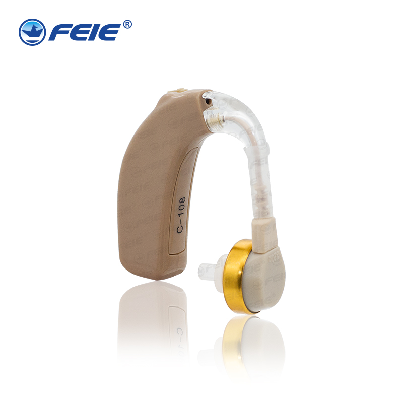 newest bte rechargeable hearing aid electronic hearing earphones deaf  c-108 for the hearing impaired aparata  free shipping analog bte hearing aid deaf sound amplifier s 288 deaf aid with digital processing chip free shipping
