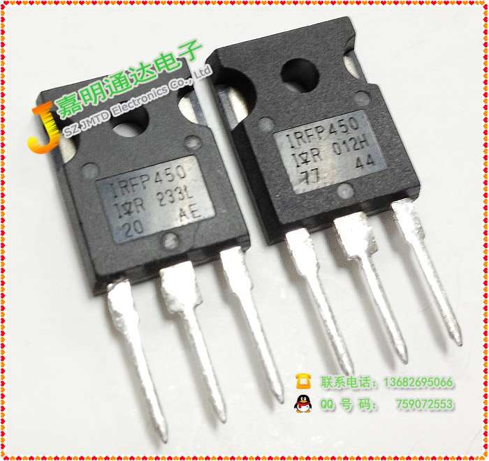 Free shipping 10pcs/lot IRFP450 N-channel FET TO-247 new original free shipping 100% new original 5pcs lot hgtg30n60a4d 30n60a4d hgtg30n60 30n60 600v smps series n channel igbt