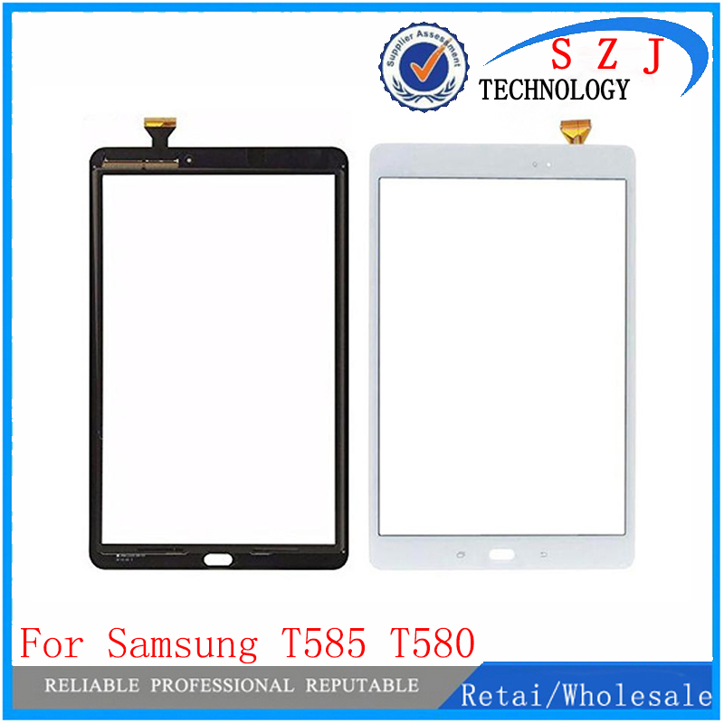 все цены на New 10.1 inch For Samsung Galaxy Tab A T580 T585 SM-T580 SM-T585 Touch Screen Digitizer Sensor Glass Panel Tablet Replacement