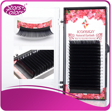 All Size 16 rows High quality mink eyelash single eyelashes natural lashes fake false eye lash 1 case