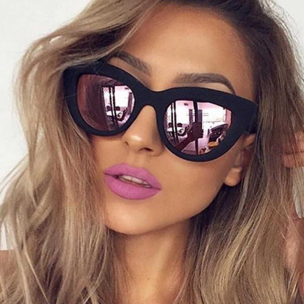 d2a214b704d75 Luxury Brand Steampunk Sunglasses Women Oversize Mirror Shades Sun Glasses  Driver New 2017 Eyewear Anti-