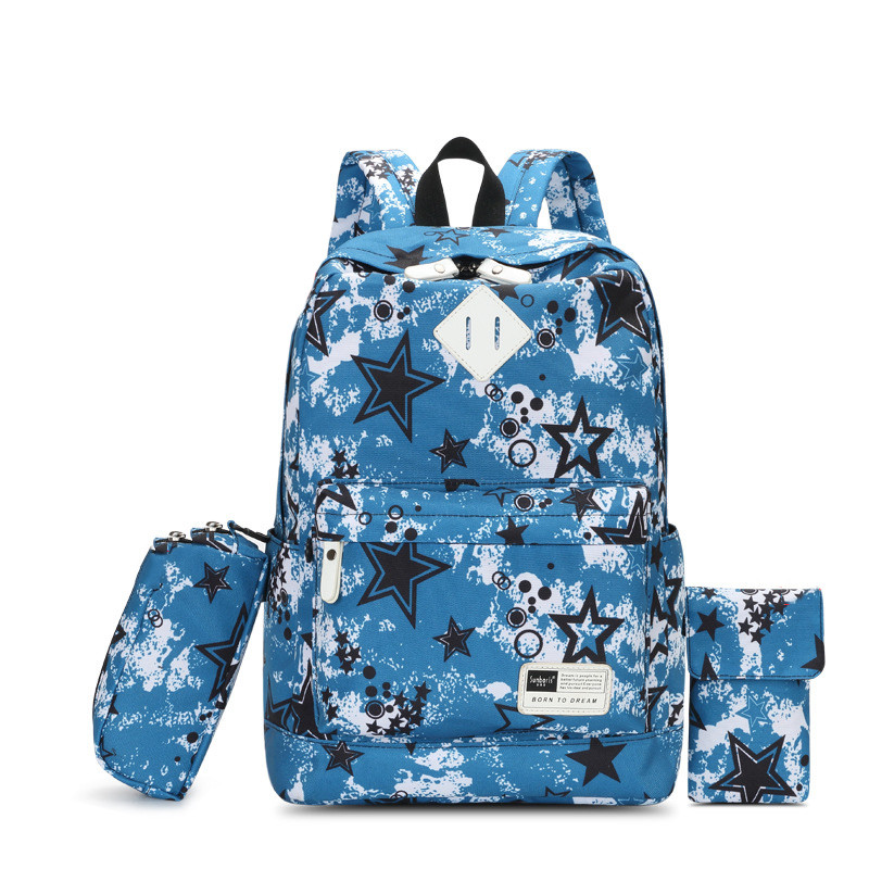2017 New Girl School Bag Travel Cute Backpack Satchel Teenager Girls Shoulder bags women schoolbag Rucksack