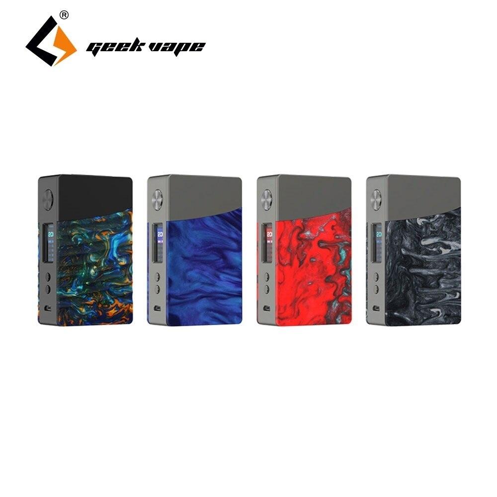 Nouveau MOD de boîte d'origine GeekVape NOVA 200 W TC avec puce avancée et couleurs attrayantes e-cig Vape Mod pas de batterie VS glisser Mod