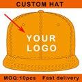 Personalizar sombrero del deporte logotipo impreso envío libre material de algodón hip hop béisbol snapback cap considerable E111-11