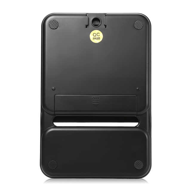 Kitchen Black Plastic Measuring Scale