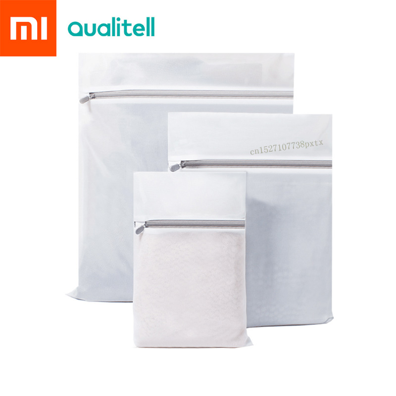 2019 New Xiaomi Mijia Youpin Laundry Bag White 3 / Bag Prevent Entanglement Reduce Wear Wash And Dry And Organize