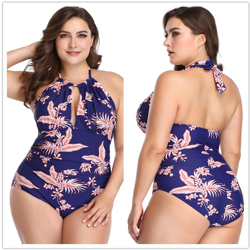 5721752ecab Plus Size Swimming Suit For Women Swimwear Sexy Bathing Suit One Piece  Swimsuit Indoor Monokini Female Beach Bikinis Bather 2019