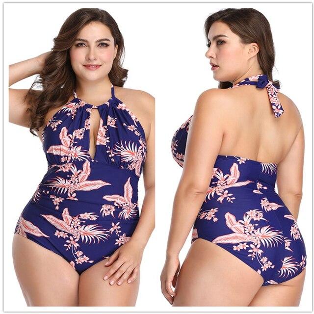 5027857446ac € 15.1 50% de DESCUENTO Aliexpress.com: Comprar Plus tamaño traje de baño  para mujeres traje de baño, Sexy traje de baño una pieza traje de baño de  ...
