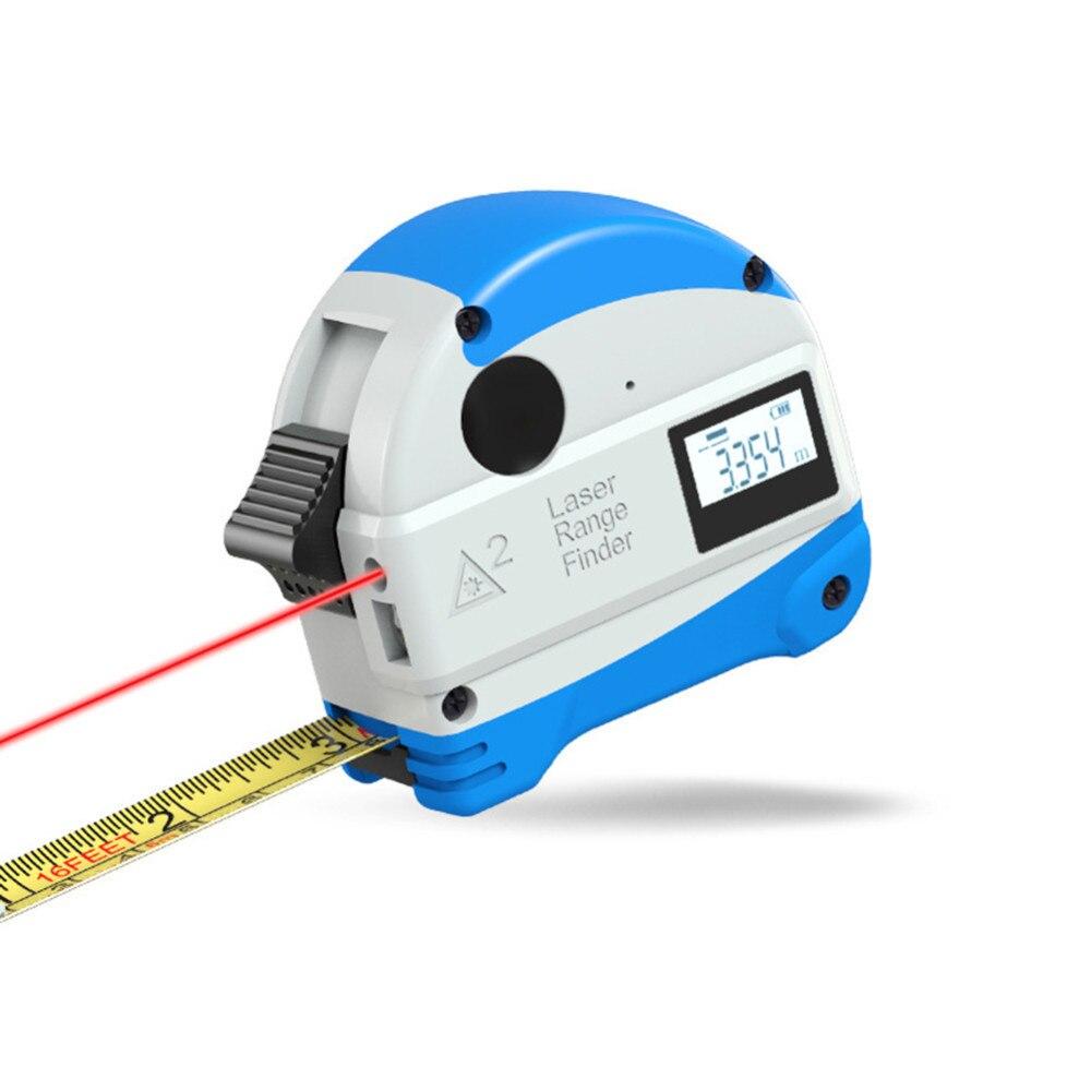 5M Anti fall Steel Tape Measurment 30M Laser Rangefinder Infrared Digital Laser Distance Meter Measure Tool