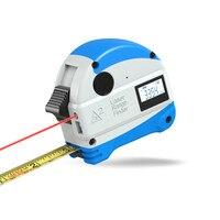5M Anti fall Steel Tape Measurment 30M Laser Rangefinder Infrared Digital Laser Distance Meter Measure Tool Tape Measure