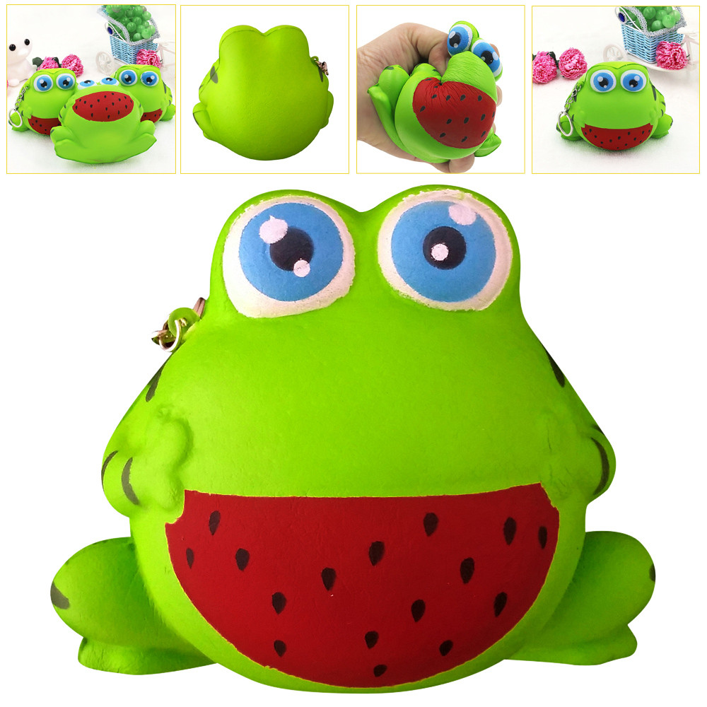 Squeeze Exquisite Fun Frog Fun Kids Toys Gift Squishy Cute Scented Squishy Slow Rising Squeeze Toy Stress Reliever Decompression