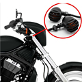 2x Black Motorcycle Mini Bullet Blinker Amber Indicator Lights Lamp Unique Turn Signals Light For Harley Free Shipping