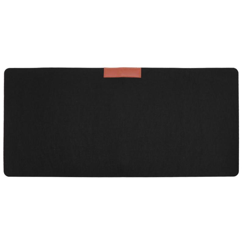Office Desk Mat Modern Table Wool Felt Large Gaming Mouse Pad Mat Keyboard Pad Mousepad for Laptop Computer 70X33CM