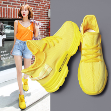 Sneakers Women Mesh Female Casual Sport Shoes Woman 2019 Fashion Flying Sports кроссовки женские