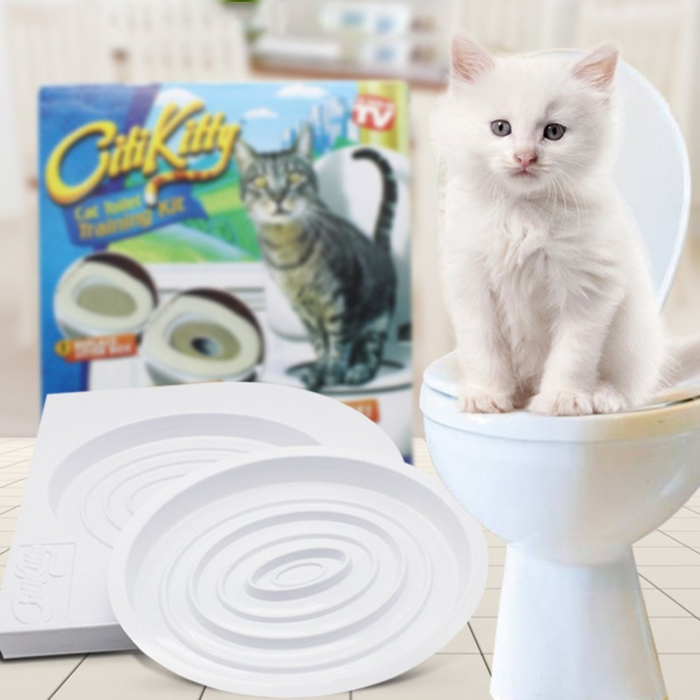 Pet Cat Toilet Training Kit Pet Tray Kit Hygienic Potty Training Potty Training Pet Hygiene Training Step-by-step System Supplie #5
