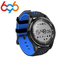 696 F3 Smart Watch IP68 Waterproof 3ATM Support Bluetooth Luminous Altitude Meter Thermometer Pedometer Steps Kcal Smartwatch