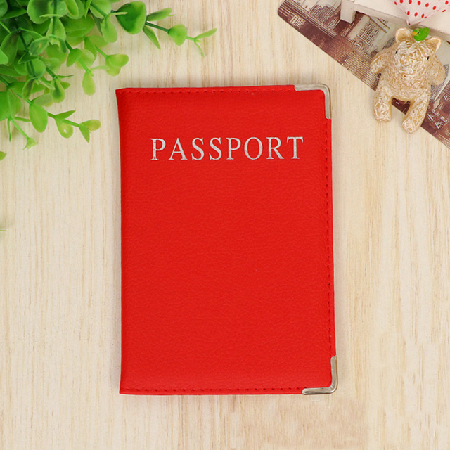 Men Casual Leather Passport Holder Cover – Men's Travel Accessories