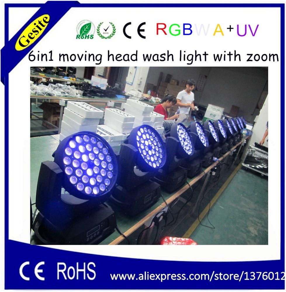 HOT 36 հատ հատ RGBAW + ուլտրամանուշակագույն - Կոմերցիոն լուսավորություն - Լուսանկար 1