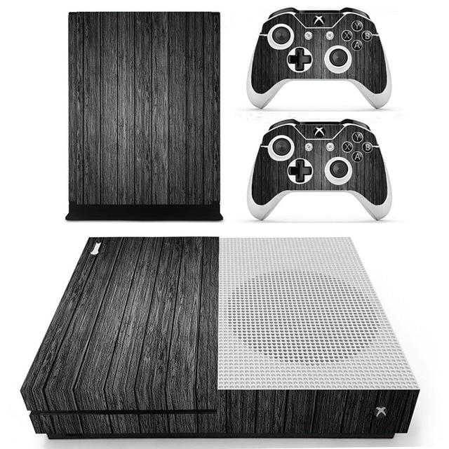 Szare Drewno Do Konsoli Xbox One S Skory Naklejka Protector Dla